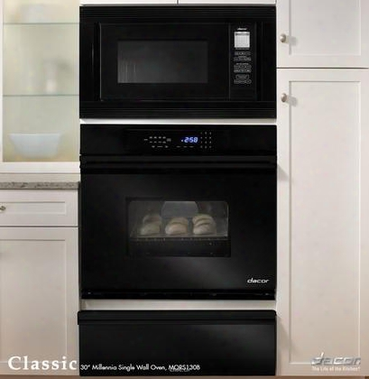 "Mors127b Classic 27"" Millennia Single Electric Wall Oven With 3.4 Cu. Ft. Pure Convection Oven Self-cleaning 6 Cooking Modes Proofing And Electronic Touch"