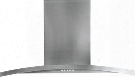 """Pv976nss 36"""" Wall Mount Chimney Hood With 450 Cfm Internal Blower Variable Speed Fan Electronic Touch Controls And Dishwasher Safe Filter In Stainless"""
