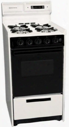 "Snm1307cdk 20"" Freestanding Gss Range With 4 Open Burners 2.46 Cu. Ft. Capacity Manual Lcean Broiler Drawer & Electronic Ignition In"