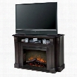 "SMP-160-E-ST Langley Collection Media Console Package - Supports up to a 52"" Flat Screen TV 26"" Self-trimming Firebox:"