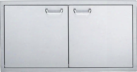 "Ldr42-1 42"" Double Doors With Handle And Storage"