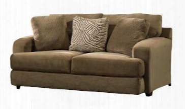 Palisades Collection 4186-02-2688-26/2691-26/2690-26 75&quo T; Loveseat With T-front Seat Cushions Wide Track Arms And Three Toss Pillows In