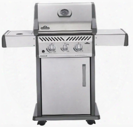 """R365sibnss 49"""" Rogue 365 Sib Series Freestanding Natural Gas Grill With 2 Stainless Steel Burners Infrared Side Burner 37 000 Btus Total Heat Output And 545"""