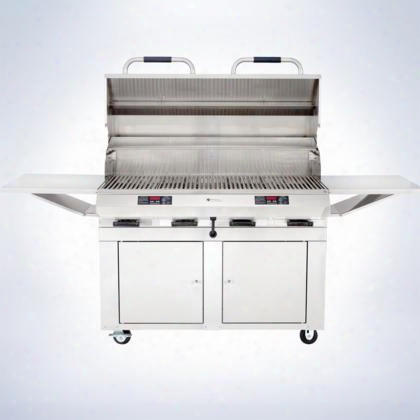 "8800ec1056cbd48 8800 Series 48"" Closed Base Grill With 18 Gauge Sainless Steel Construction Dual Digital Controls Automatic Shut-off Stainless Harden"