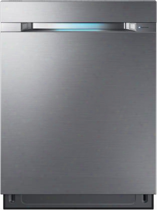"Dw80m9960us 24"" Top Control Dishwasher With Waterwall 2.0 Technology 38 Dba 15 Place Settings And Wi-fi Connectivity In Stainless"