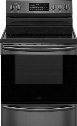 "FGEF3059TD 30"" Gallery Series Electric Range with 5.7 cu. ft. Capacity Standard Gas Burners in Black Stainless"