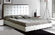 """Penelope Collection i11285 82"""" King Size Bed with Storage platform and folding Wooden Slat Frame in"""