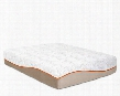 "Picasso Collection PICASSOTXL-TMAT 13"" Twin Extra Long Mattress with Removable Tencel Zip Cover 3"" PureGel Plus Gel Memory Foam and 7"" Comfort Support"