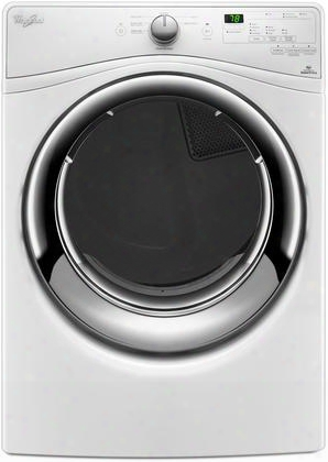 "Wgd7540fw 27"" Front Load Gas Dryer With 7.4 Cu. Ft. Capacity 7 Cycles 4 Options 4 Temperature Options Ecoboost In"