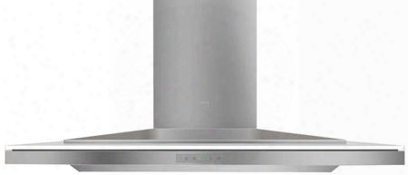 "Ala-e42bwx 42"" Wall Mount Chimney Range Hood With Glass Touch Controls 2 Mesh Filters Tri-level Led Lighting And Wireless Remote Control In White Glass With"