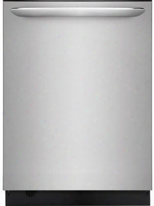 "Fgid24766sf 24"" Gallery Series Built-in Dishwasher Best 30 Minutes Clean Automatic Adjust Cycle Led Light Alert 24 Hours Delay Start And Quick Wash In"