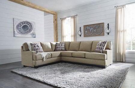 "Larkhaven Collection 819024867 116"" Sectional Sofa With Left Arm Facing Sofa With Corner Wedge And Right Arm Facing Sofa In"