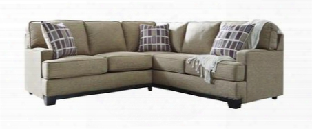 "Larkhaven Collection 819025549 93"" Sectional Sofa With Right Arm Facing Sofa W/ Corner Wedge And Left Arm Facing Loveseat In"