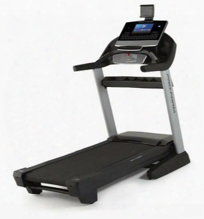 Pftl17116 Pro 9000 Treadmill With Integrated Crossfit Tray Spacesaver Design 4.0 Chp Drive System 22 X 60 Non-stretch 1-ply Commercial Belt And Proshox