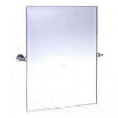 Afina Rm-826-sn Radiance Gear Tilt Rectangel Bass Mirror, Satin Nickel