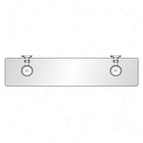 Afina Rs-800-cr Radiance Gear Tilt Glass Shelf, Polished Chrome