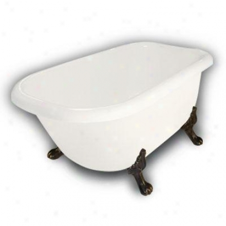 Whitehaus 614 413tfp Blair Haus Jackson Deck Mount Tub