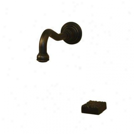 American Bath Factory F2-3380-ob-f9-9600-dc-ob F2-3380 Integrated A ~ time Neck Faucet, Old World Bronze
