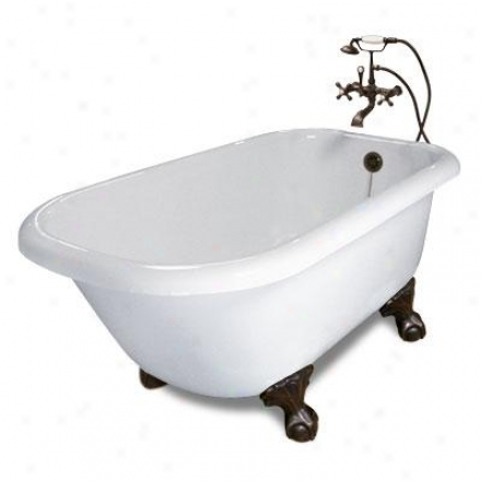 American Bath Factory P1-tb-sn-ww Trinity Designer Upgrade Bathtub Package Tb In Happy With Satin Ni