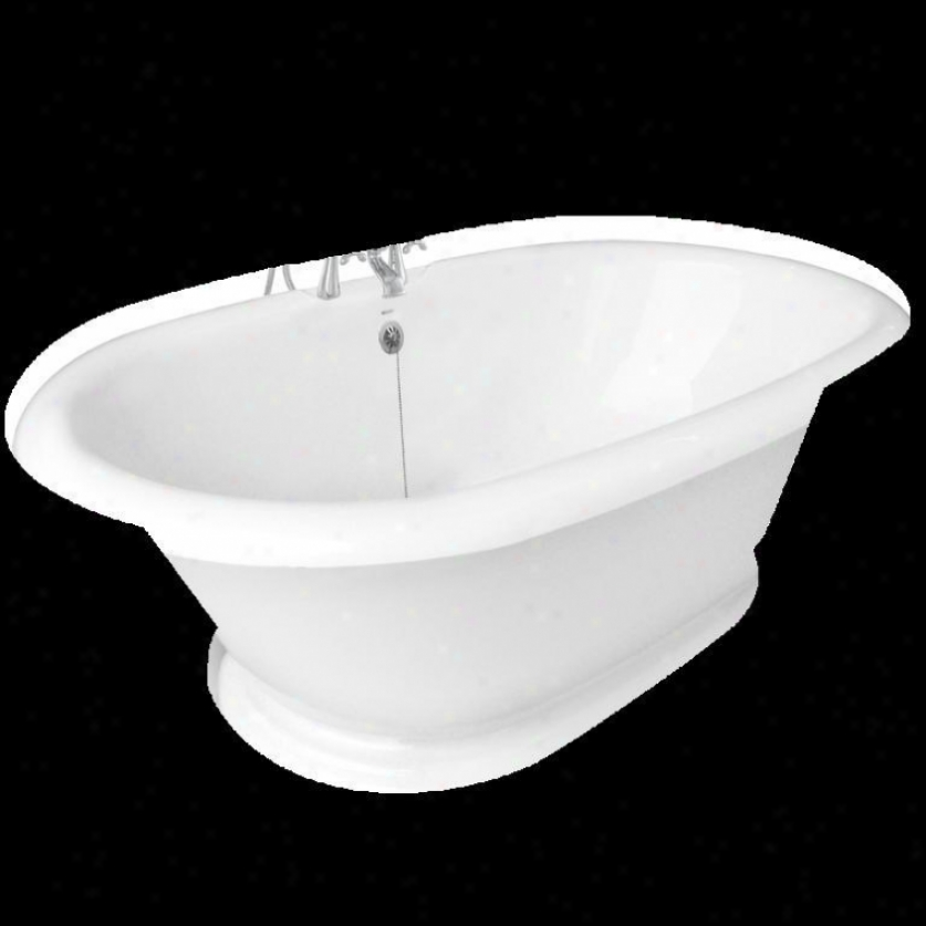 mAerican Bath Manu~ T120d-sn-c Heritage Champagne Massage Bathtub Faucet Package 1 In Pure