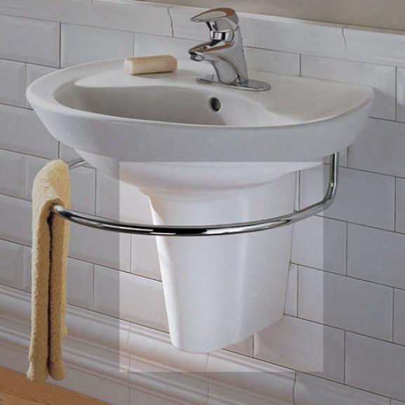 American Standard 0044.000.020 Ravenna Pedestal Lwg, White
