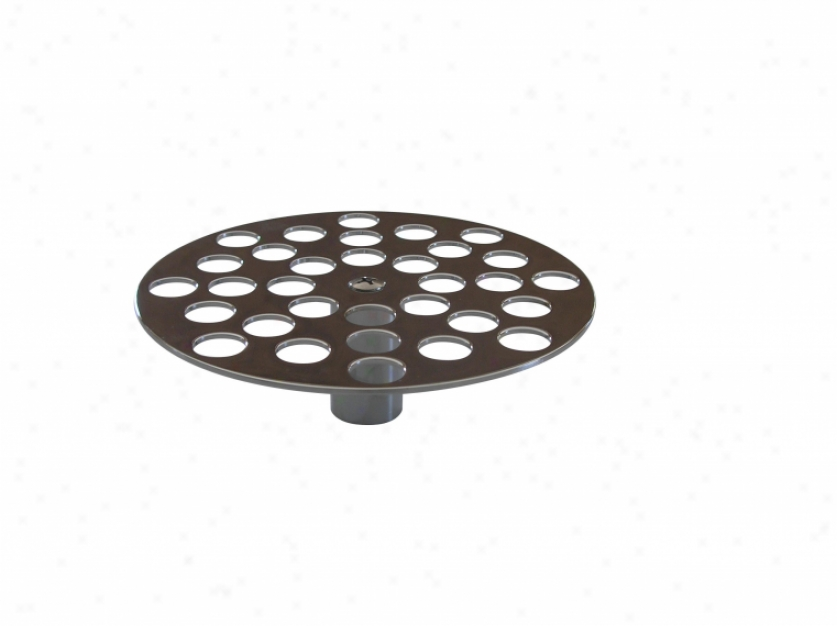 American Standard 037640-0020a Clinic Sink Cast Metal Loose Strainer (use With 9512), Chrome