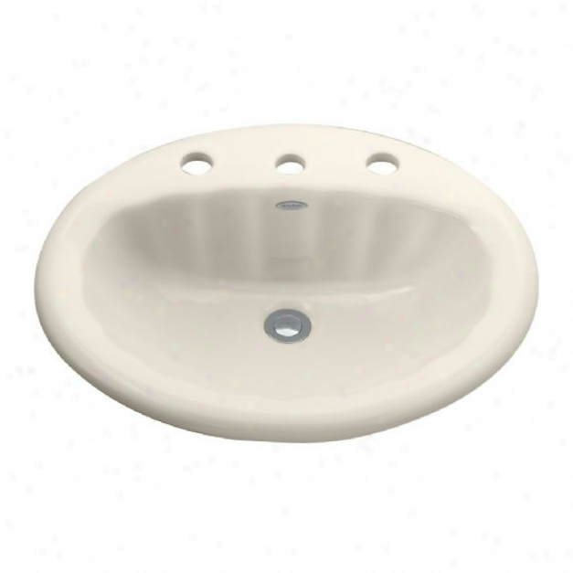 American Standard 0530.004ec.222 Seychelle Sink With 4 Centers, Thread of flax