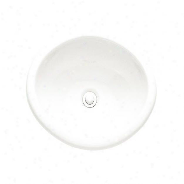 American Standard 0573.000.020 Sebring Countertop Sink, White