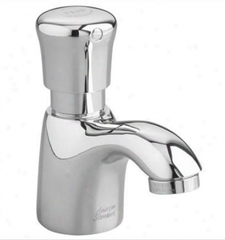 American Standard 1340m.00.002 Metering Faucet With Mixing Valve, Chrome