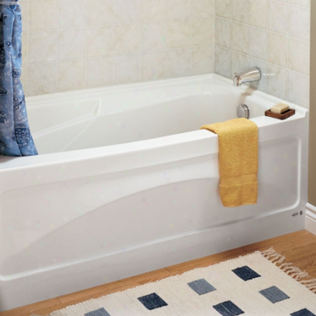 American Standard 1748.102.222 Colony 5 1/2' X 32 With Integral Apron Bath Tub - Right Hand Outlet,