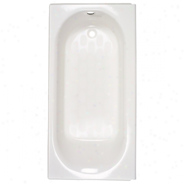American Standard 2390.202.045 Princeton Bath Tub With Integral Apron And Left Hand Outlet, Fawn Bei