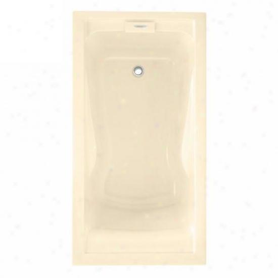American Standard 2422v.002.021 Evolution 5' X 32 Stillness Soak Bath Tub, Bone