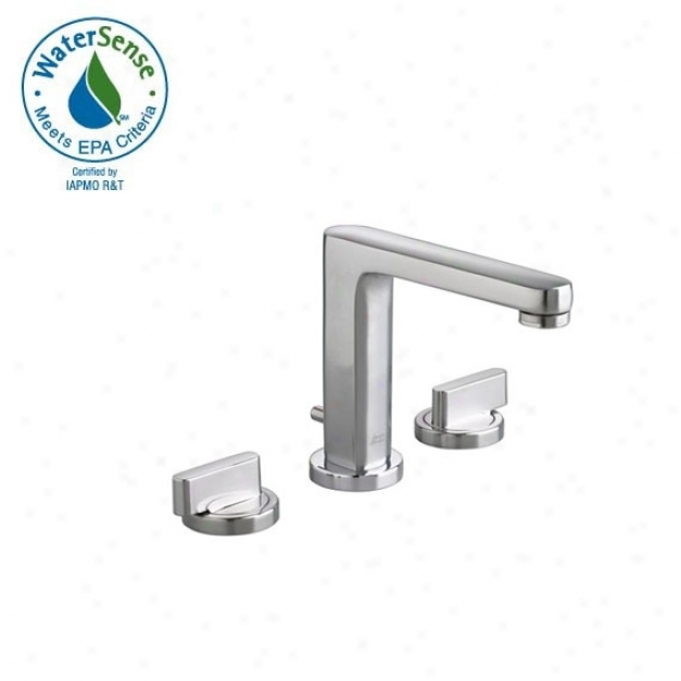 American Standard 2506.821.002 Momentts Two-handle Widespread Lavatory Faucet, Chrome