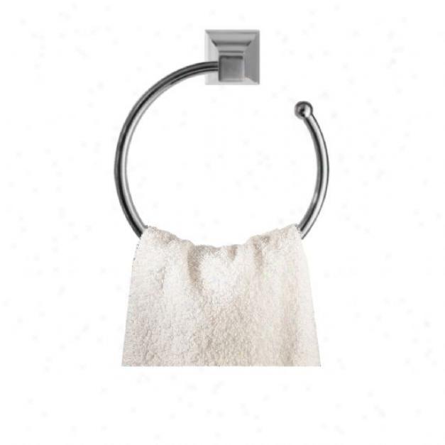 American Standard 2555.021.295 Town Square Towel Ring, Satin Nickel