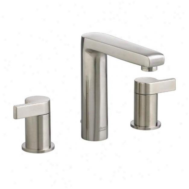 American Standard 2590.801.295 Studlo Widespread Lavatory Faucet, Satin Nickel