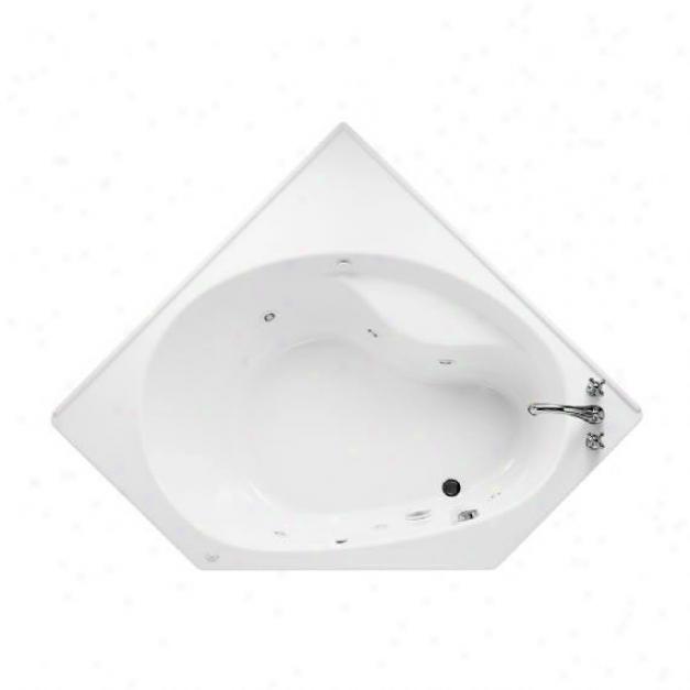 American Standard 2664.218c.020 Scala Corner Everclean Whirlpool Hydro Massage System, Left Hand Out