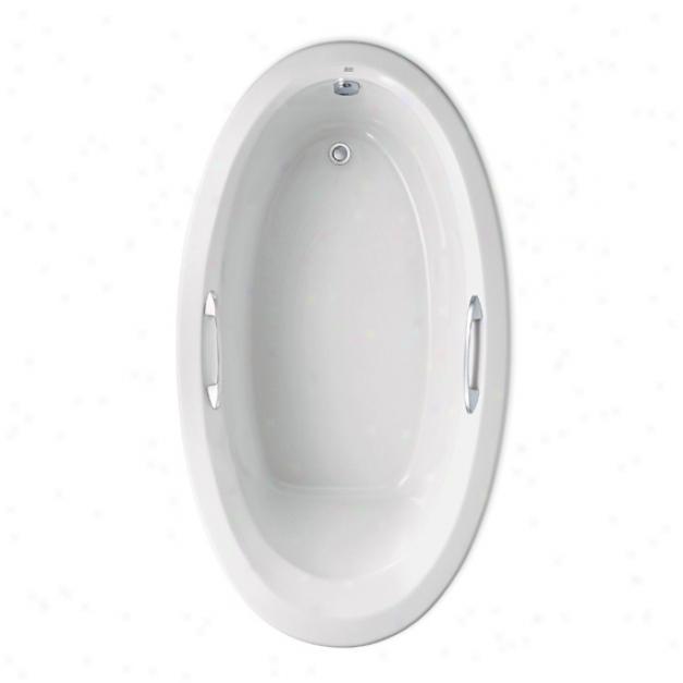 American Standard 2709.002.020 Ellisse Oval Bathtub Only, White