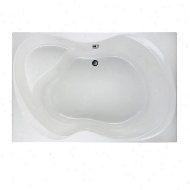 American Standard 2711.002.011 Ellisse 6' X 48 Bath Tub Only, Arctic White