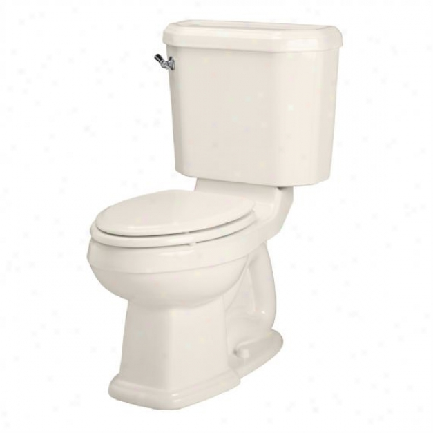 American Standard 2733.014.222 Townsend Champion 4 Very Height Elongated Toilet, Linen