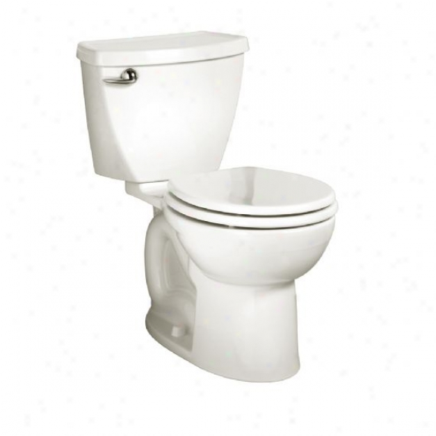 American Standard 2756.016.020 Cadet 3 Right Height Round Frotn Toilet 10 Rough-in, White