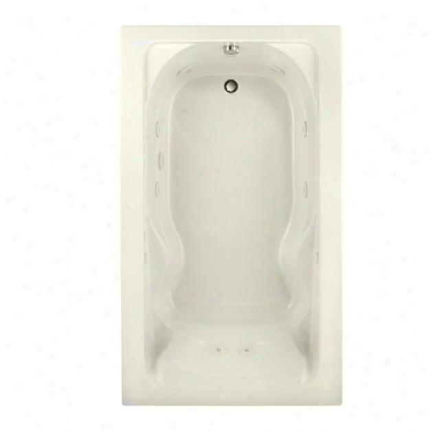 American Standard 2774.018wc.222 Cadet 6'x42 Everclean Whirlpool, Thread of flax
