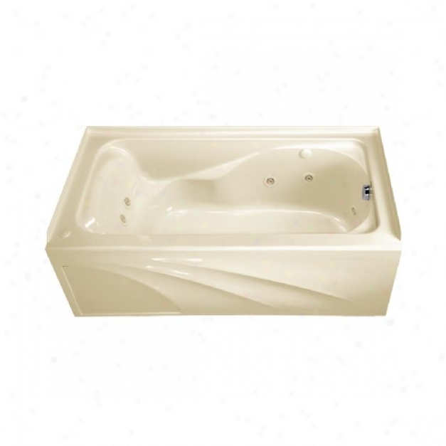 American Standard 2776.118w.222 Cadet 5' X 32 With IntegralA pon Whirlpool - Right Hand Outlet, Li