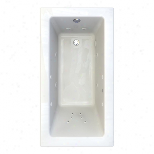 American Standard 2938.018c-d4.020 Studio 5-1/2' X 36 Everclean Whirlpool With 4 Profile, White