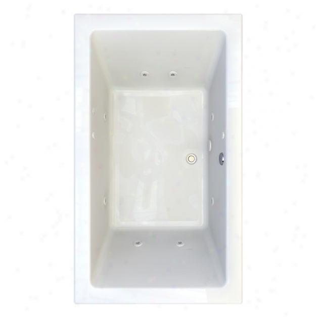 American Gauge 2942.018c-d2.020 Studio 6' X 42 Everclean Whirlpool - 2 Profile, White
