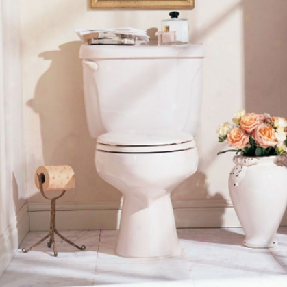 American Standard 2998.012.021 Cadet Right Height 12 Elongated Toilet, Bone