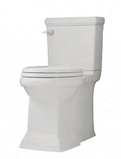American Standard 3071.000.020 City Square Right Height Elongated Bowl With 2 Bolt Covers, White
