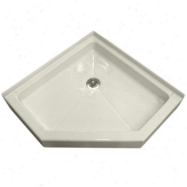 American Standard 3636.neo.2222 Neo-angle 36 X 36 Shower Bqse, Linen
