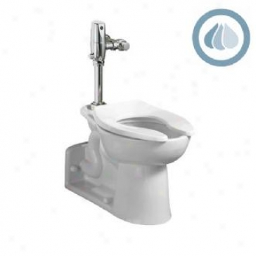 American Stqndard 3695.001.020 Priolo Ada Universal Elongated Toilet Bowl With Everclean, White