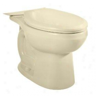 American Standard 3705.216.021 Right Height Elongated Bowl Less Seat With Bolt Cape, Bone