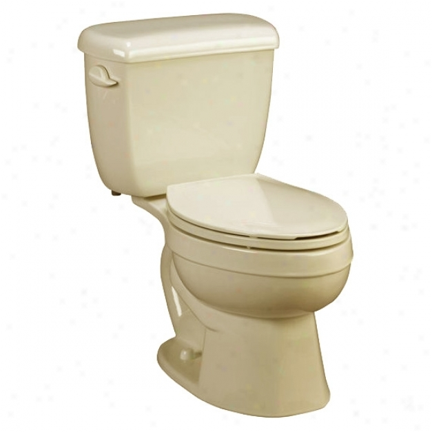 American Standard 3892.016.021 Titan Pro Right Elevation Elongated Toilet Bowl, Bone